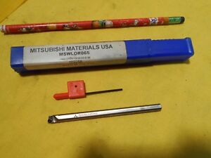 New Mitsubishi Wcmt Carbide Insert 1 4 Boring Bar Lathe Tool Holder Mswlor065