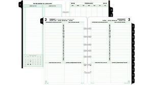 Daytimers Dtm12010 Day timer Daily Planner Refill