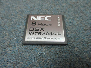 Nec Dsx 40 80 160 1091060 V2 2 1a g Intramail 2 Port 8 Hour Flash Voice Mail