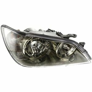 Headlight For 2001 2005 Lexus Is300 Right Clear Lens Hid Dot Sae Compliant