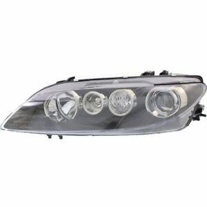 Headlight For 2006 2008 Mazda 6 Left Clear Lens Hid Naturally Aspirated