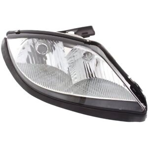 Headlight For 2003 2005 Pontiac Sunfire 2 2l 4 Cylinder Right Clear Lens Halogen