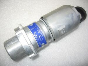 Crouse hinds Apj3485 Arktite 30 Amp Plug For Hazardous Locations Body Grounded