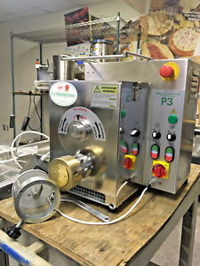 P3 Pasta Extruder W Ravioli Attachment 2 Dies manufactured In 2017