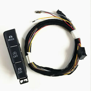 Car Driving Mode Switch Esp Off Auto Start Stop Switch Cable For Vw Golf 7 Mk7