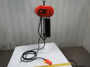 Cm Lodestar Model L 1 Ton Electric Chain Hoist 16fpm 19 Lift 460v 3ph