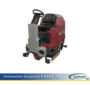 New Minuteman E Ride 32 Cylindrical Rider Scrubber Base Unit No Batteries