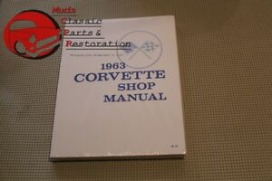 63 Corvette Shop Service Repair Manual