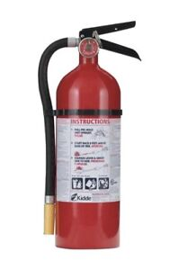 Kidde set Of 2 Pro Fire Extinguisher 340 3 a 40 b c 9 Lb Rechargeable Rated