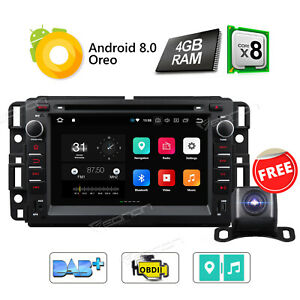 7 android Car Stereo Dvd Gps Sat For Chevrolet Indash Radio Navigation Bluetooth