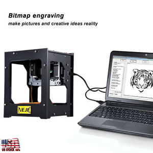 Laser Engraver Cutter Engraving Carving Machine Printer W Protective Glasses