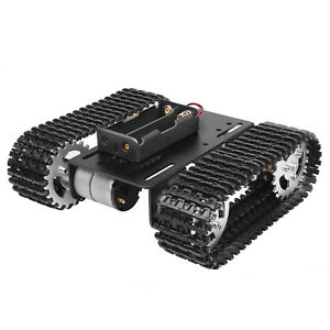 Mini Tank Tracked Robot Smart Military Vehicles Car Platform Aluminum Chassis