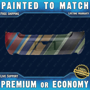 New Painted To Match Rear Bumper Cover For 2006 2013 Impala Dual Exhaust 06 13