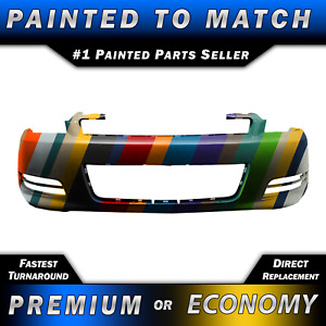 New Painted To Match Front Bumper Fascia Exact Fit For 2006 2013 Chevy Impala