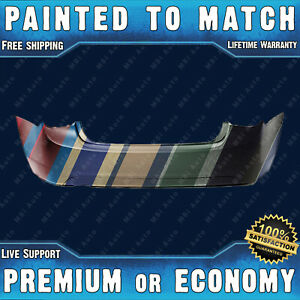 New Painted To Match Rear Bumper Exact Fit Fascia For 2011 15 Chevy Cruze 11 15