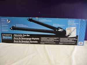 Reese Towpower 74344 Adjustable Tow Bar With 5 000lb Capacity