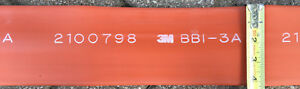 3m Bbi 3a red Roll Bus Bar Heat Shrink Tubing Price Is For 16 Linear Feet