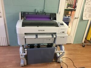 Poster Printer Epson Surecolor T3270 24 Lg Wide Format