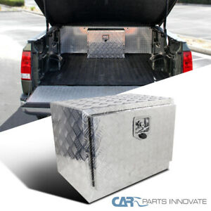24 X 17 Truck Bed Pickup Underbody Aluminum Tool Box Trailer Storage W Lock