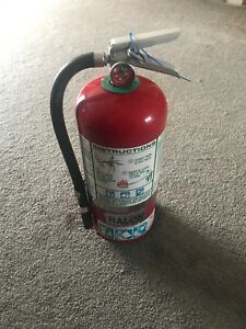 9 Lb Halon 1211 Fire Extinguisher Badger Fully Charged Ready To Go