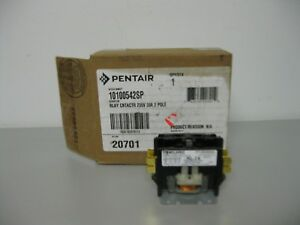 Pentair Relay Contactor 230 Volt 30 Amp 2 Pole 20701 New Boxed