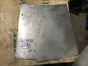 Lot Of Four Sheets 1 16 X 9 X 12 Stainless Steel Plate 34 99 8 Lb