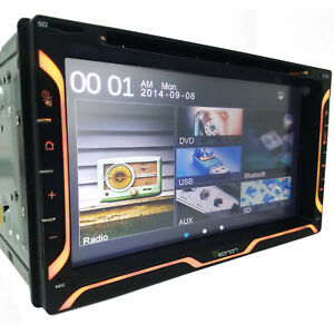 6 95 Double 2din Car Stereo Radio Dvd Player Digital Bluetooth Touch Mp3 Usb Sd