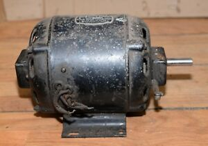 Vintage Frigidaire Delco Repulsion Induction Antique Electric Motor 1 4 Hp Early