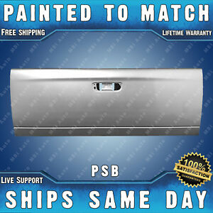New Painted Psb Silver Metallic Tailgate For 2002 09 Dodge Ram 1500 2500 3500