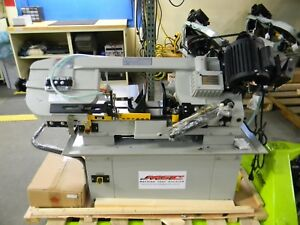 Vectrax 7 X 12 Manual Step Pulley Combo Metal Cutting Band Saw 115 Damaged