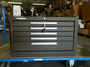 Kennedy 5 Drawer Tool Box 27 Wide 18 Deep 16 5 8 High Steel 285xb Repair