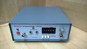 New Rf 110mhz Am fm Pll Synthesized Signal Generator