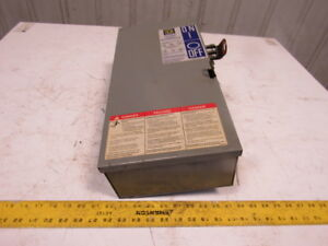 Square D Pq 3610g I line 100a 600v 3ph Fusible Busway Switch Bus Plug 3 Pole