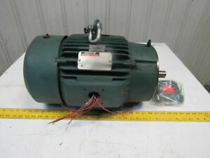 Reliance 1yab95875a1 3 4hp 1745 1160rpm 480v 210tcz Dual Speed Electric Motor