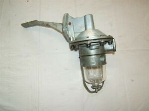 1957 1958 1962 Ford Truck Fuel Pump Heavy Duty New 292 V8 Glass Bowl