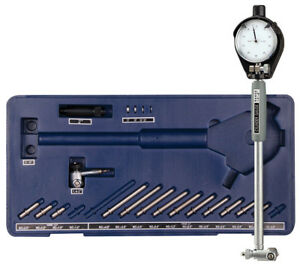 Engine Cylinder Bore Dial Indicator Gauge Kit 1 4 To 6 Inch 0001 W 2 Heads