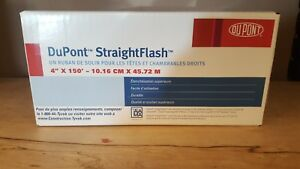 Dupont Straightflash 4 X 150 Tyvek Window Door Jamb Flashing Tape Sealed