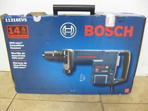 Bosch 11316evs 14 Amp Corded Sds max Variable Speed Demolition Hammer W case