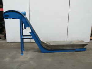 Livonia B 14 Magnetic Incline Conveyor 12 w 49 Discharge 35fpm 208 230 460v 3ph