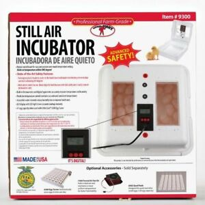Still Air Incubator 9300 Chick Duck Poultry Pheasant Quail Lcd Display