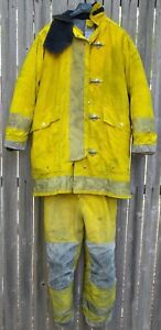 Morning Pride Firefighter Turnout Bunker Gear Full Set Pants 32x27