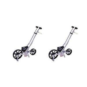 Earthway Precision Garden Seeder Adaptable Seed And Fertilizer Spreader 2 Pack