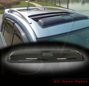 Window Vents Top Sunroof Moon Roof Visors Combo Chrysler 300 05 09 4dr Sedan