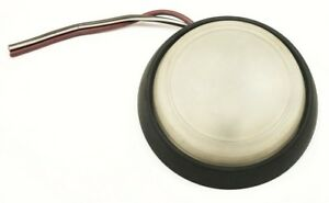 Interior Round Black Dome Light Vw Jetta Rabbit Gti Mk1 Genuine 175 947 143