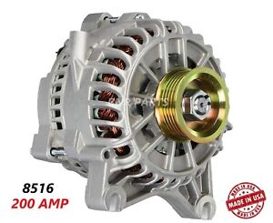 200 Amp 8516 Alternator Ford Mustang 4 6l High Output Performance Hd New Usa