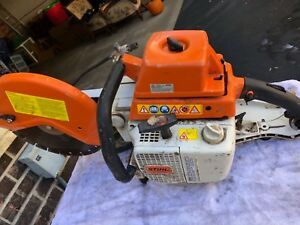 Stihl Ts 750 Wet Saw Used Once For A Remodel Project My Husband Passed Selling