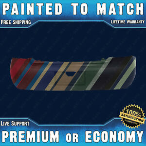 New Painted To Match Rear Bumper Replacement For 2006 2011 Chevy Impala Ls 06 11