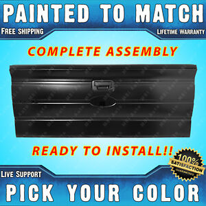 New Painted To Match Tailgate Assembly For 2009 2014 Ford F150 Without Int Step