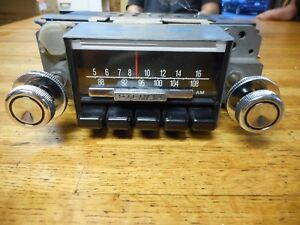 Reconditioned Factory 1968 Ford Mustang Shelby Am fm Am Fm Stereo Radio Oem