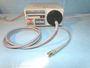 Storz 481c Endoscopy Miniature Light Source 150 Watt 495na Fiber Optic Cable